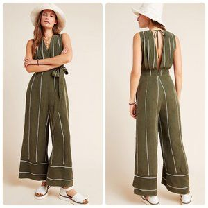 NWT Anthropologie Sancia Pia Striped Jumpsuit